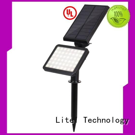48 led solar powered pathway lawn solar garden light