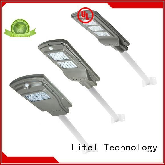 Litel Technology sensor all in one solar led street light order control