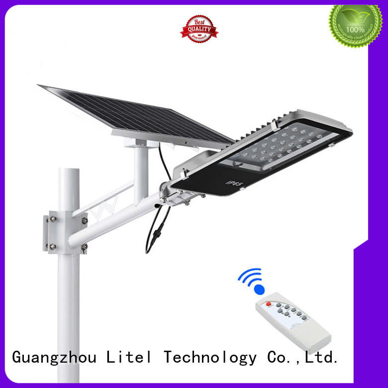 Litel Technology wall mounted 12w solar led street light at discount for street