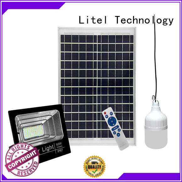 Litel Technology best solar powered flood light by bulk for barn