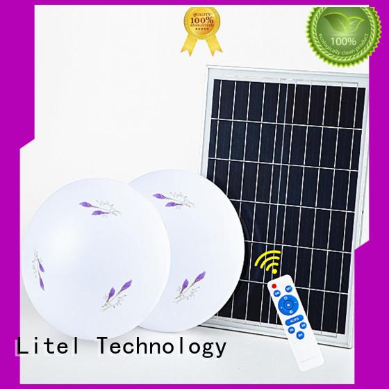 Litel Technology custom solar outdoor ceiling light ODM for road