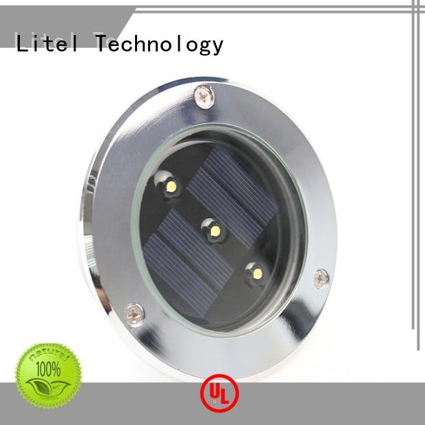 solar panel garden lights power for landing spot Litel Technology