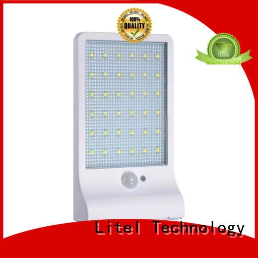 Litel Technology wall mounted large solar garden lights porch for lawn