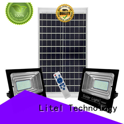 Litel Technology best quality best outdoor solar flood lights inquire now for warehouse