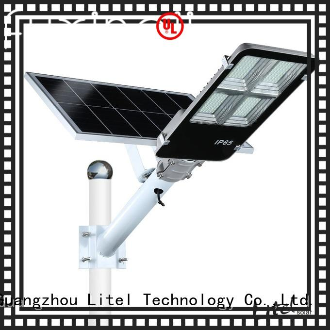 Litel Technology wall mounting best solar street lights sensor remote control for patio