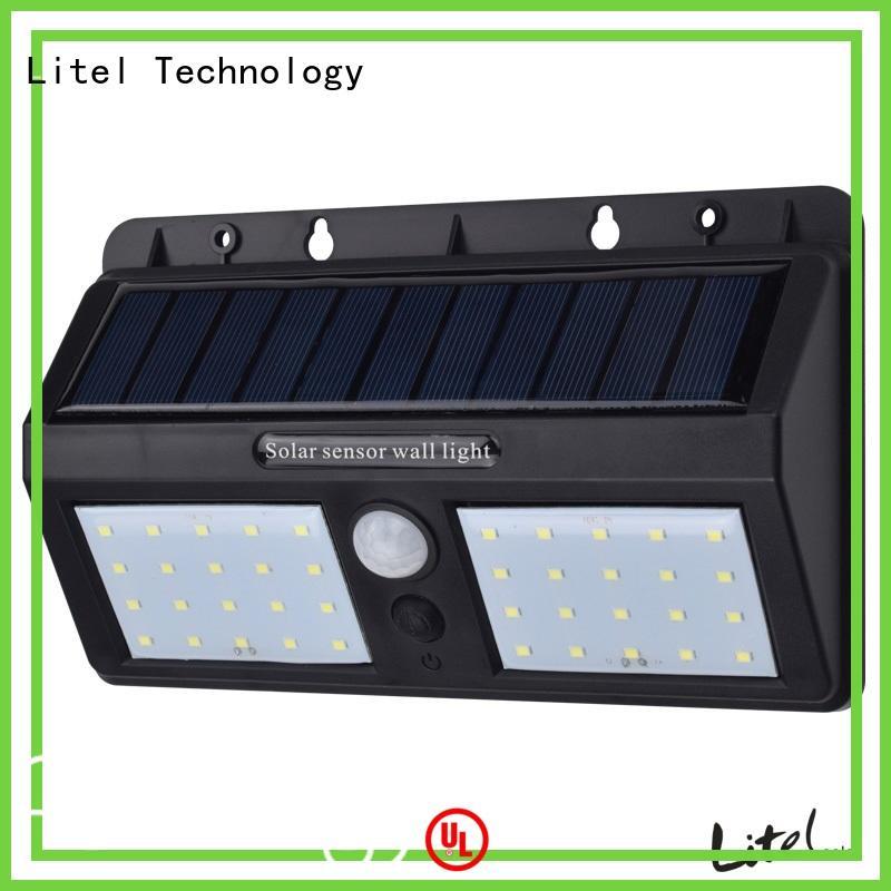 Litel Technology wireless best solar garden lights bridgelux for garden