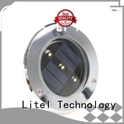 Litel Technology waterproof best solar garden lights pole for landing spot