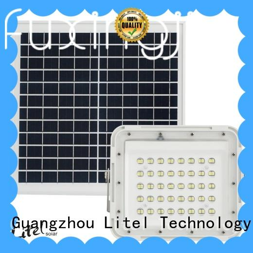 Litel Technology reasonable price solar powered motion flood lights bulk production for patio