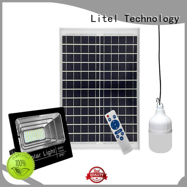 Litel Technology reasonable price solar powered flood lights outdoor hot-sale for barn