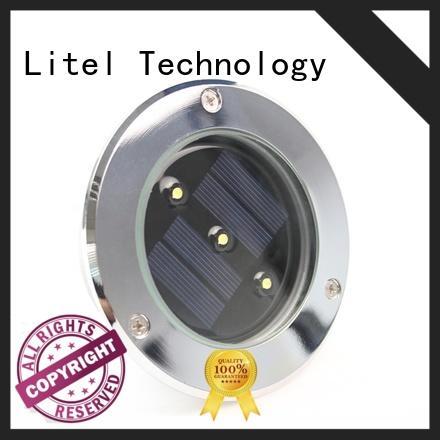 Litel Technology wireless solar led garden lights decoration for gutter