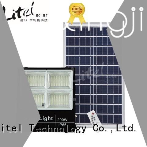 remote control solar led flood light inquire now for factory Litel Technology