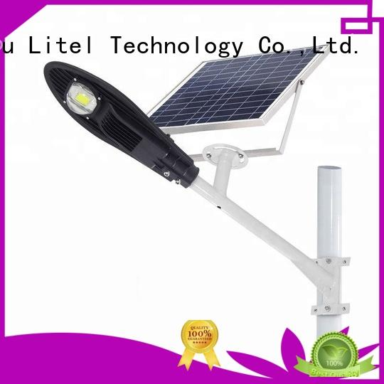 Litel Technology led solar powered street lights residential easy installation for porch