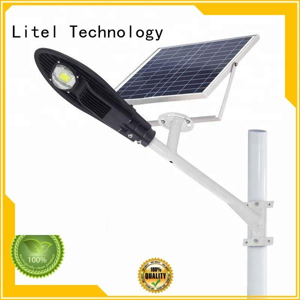 outdoor solar powered street lights residential control porch