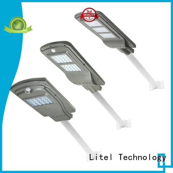 Litel Technology one solar led street light order now for workshop