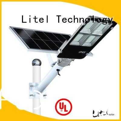 energy-saving smart solar street light easy installation for barn Litel Technology