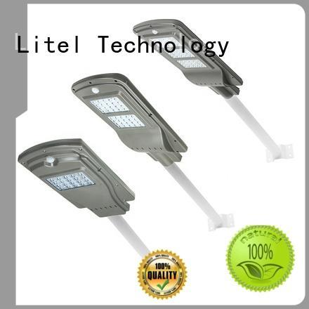 Wholesale radar integrated solar street light Litel Technology Brand