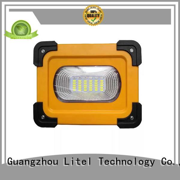 solar traffic lights manufacturers for warning Litel Technology