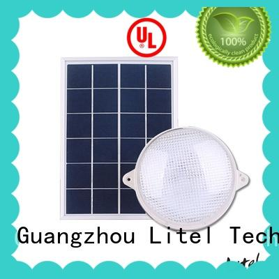 Litel Technology brightness solar powered ceiling light OBM for alert