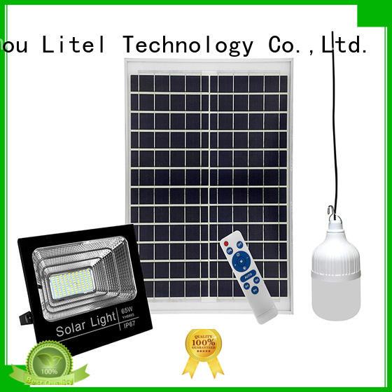 Litel Technology quality best solar flood lights sensortimer lighting