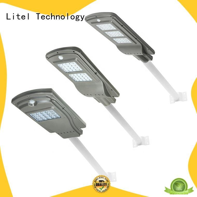 all in one solar led street light switch for barn Litel Technology