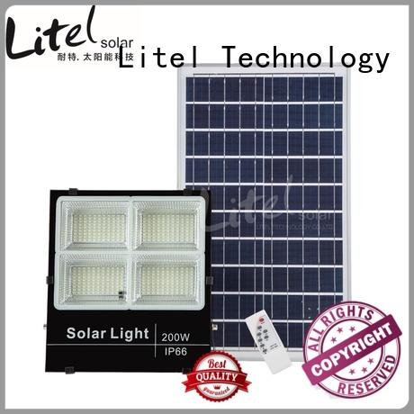solar led flood light remote control inquire now for barn