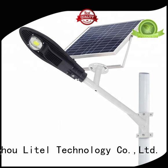 Litel Technology energy-saving 60w solar led street light by bulk for garage