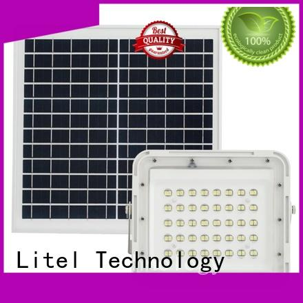 reasonable price solar powered led flood light bulk production for warehouse Litel Technology