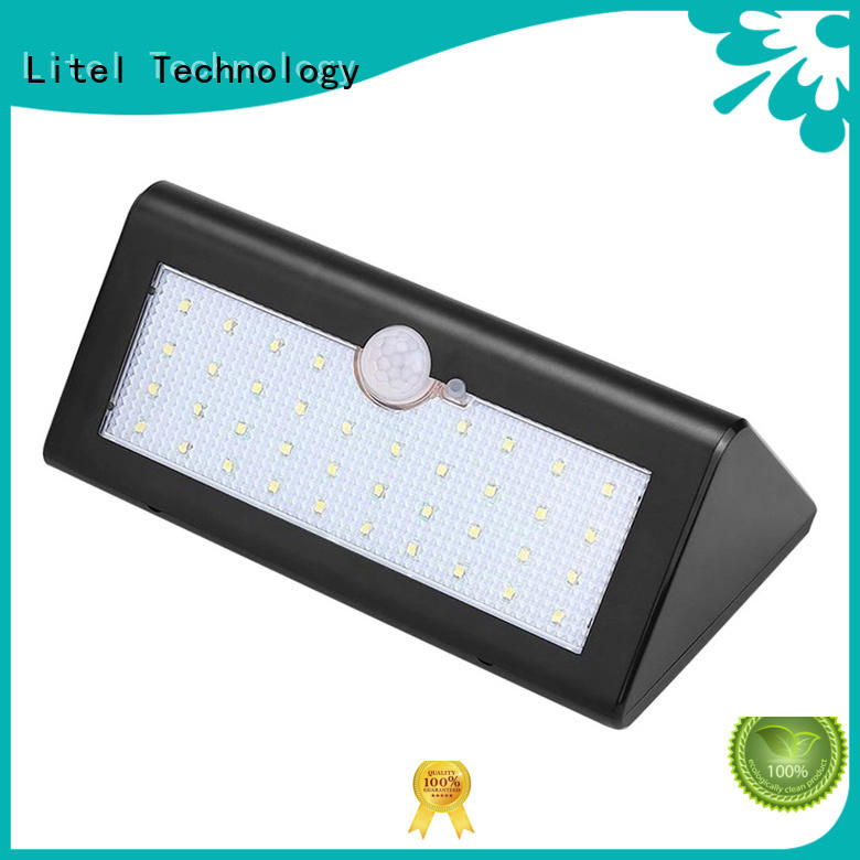 High Bright Solar Lights Motion Sensor Outdoor Light 38 LED Wall Bright Lamp