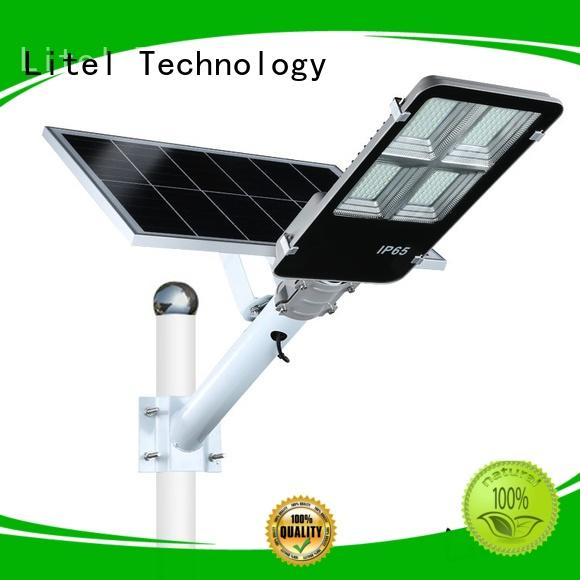 Litel Technology led solar powered street lights residential at discount for porch