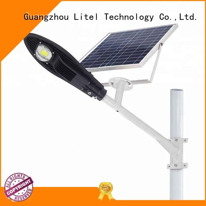 energy-saving smart solar street light at discount for patio Litel Technology