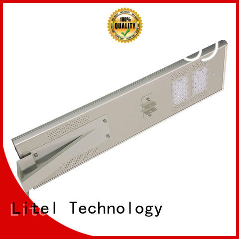aluminum all in one solar street light price inquire now for porch Litel Technology