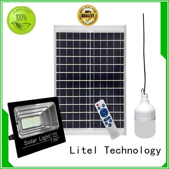 Litel Technology solar flood lights outdoor for porch