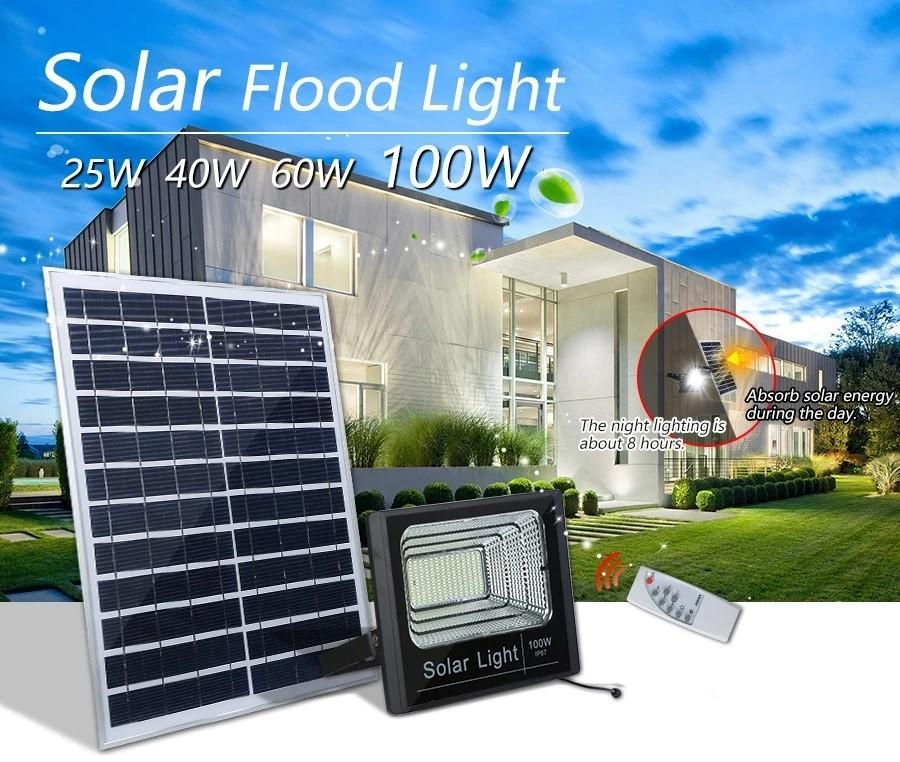 solar led flood light remote control inquire now for barn-3