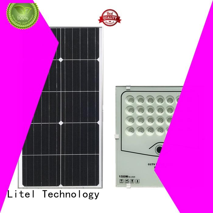 WIFI App Control CCTV solar flood light camera 150w