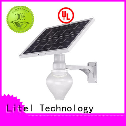 Litel Technology wireless best solar powered garden lights flame for landing spot