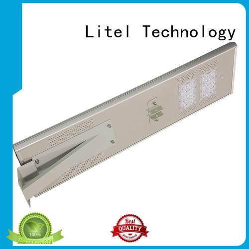 customize integrated solar led street light order control
