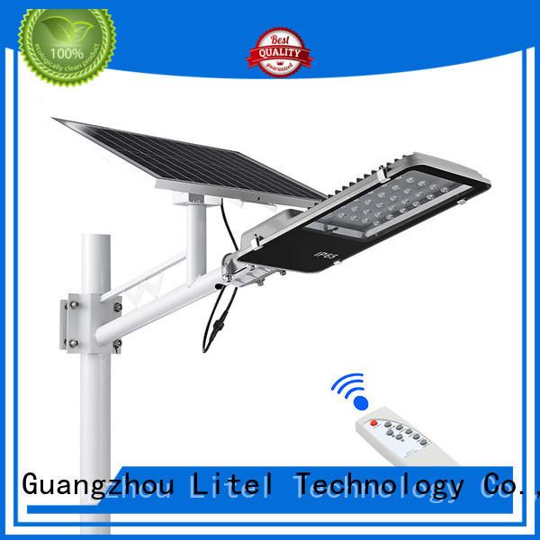 Litel Technology waterproof solar led street light fixture for lawn