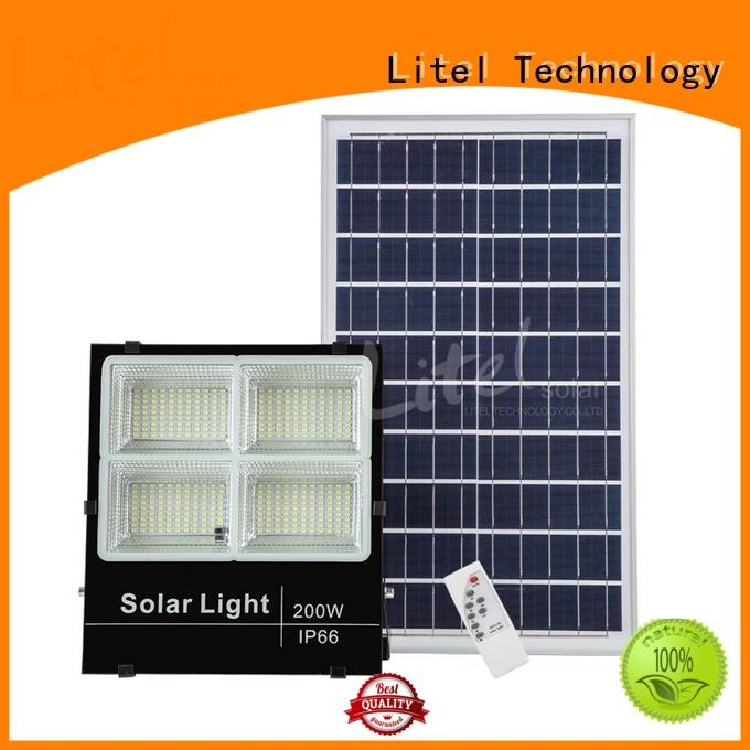 Litel Technology remote control best solar led flood lights inquire now for patio