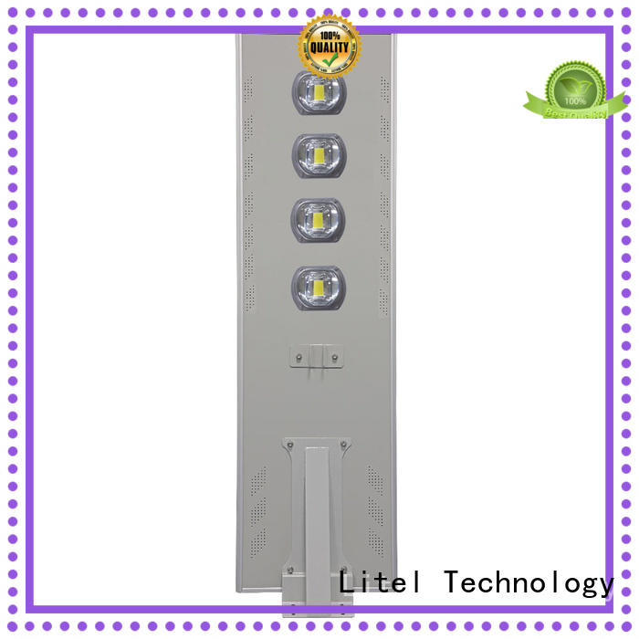all in one solar led street light one sensor Litel Technology