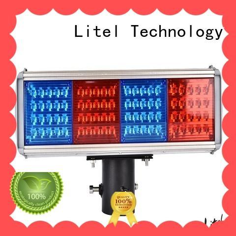 solar solar led traffic lights bulk production for high way Litel Technology