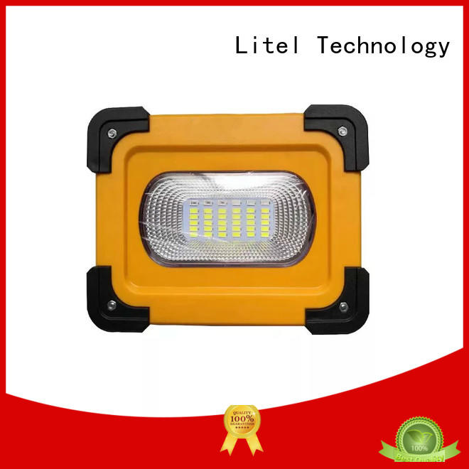 Litel Technology solar traffic light system blinking for alert