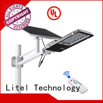 Litel Technology led sensor 18 watt solar led street light at discount for lawn