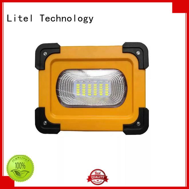 solar traffic light system led for warning Litel Technology