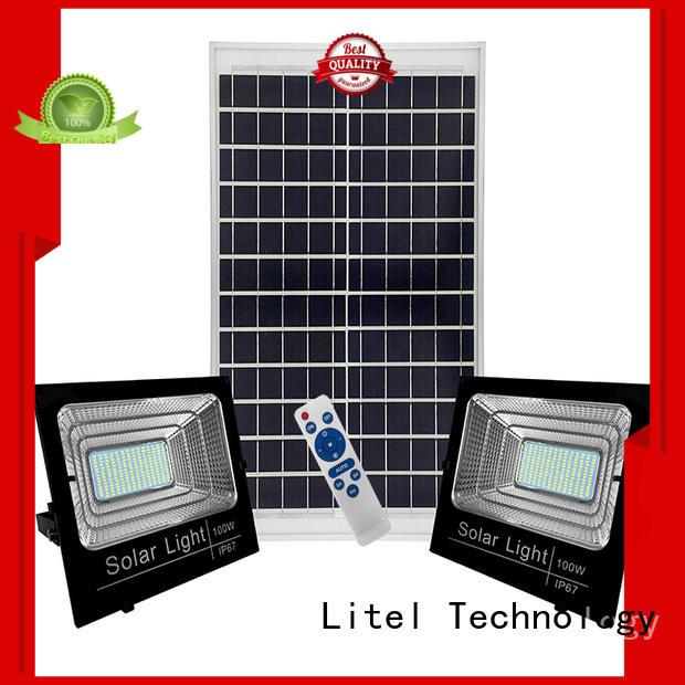 Litel Technology durable solar flood lights outdoor for factory