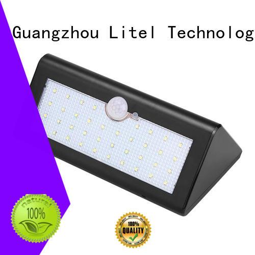 Litel Technology flickering hanging solar garden lights power for gutter