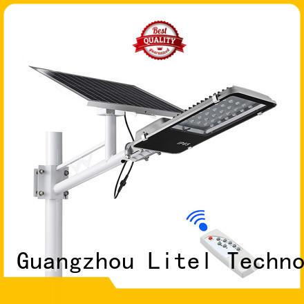 Litel Technology solar panel street light custom for project