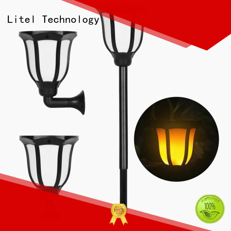 Litel Technology mounted solar panel garden lights on-sale for garden