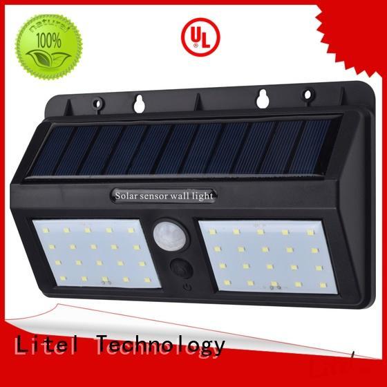 Litel Technology waterproof high power solar garden lights light for landing spot