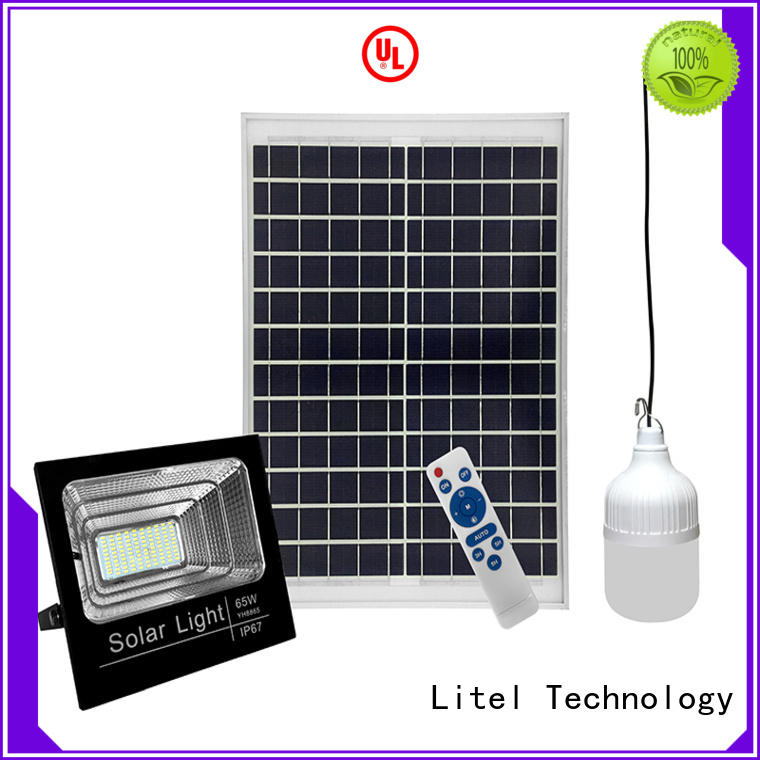Litel Technology low cost solar led flood light inquire now for workshop