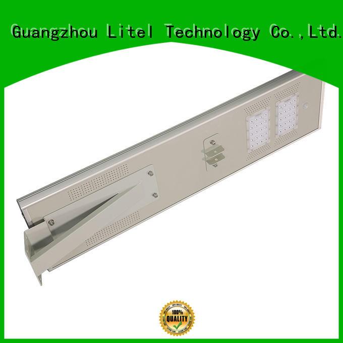 Litel Technology radar all in one solar street light price order now for warehouse